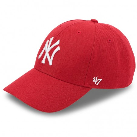 CASQUETTE NY 47 BRAND RED